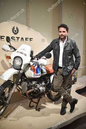 Levison Wood attends the Belstaff Spring/Summer 18 presentation 'Paris to Dakar' during London Fashion Week Men's June 2017, at Somerset House, London