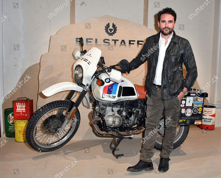 Editorial image of Belstaff presentation, Spring Summer 2018, London Fashion Week Men's, UK - 12 Jun 2017