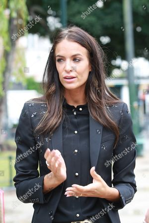 Stock Image of Jade Lagardere, who has written her first comic book.