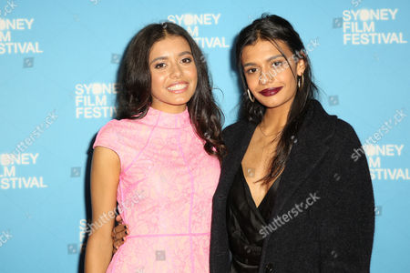 Stock Image of Miah Madden and Madeleine Madden