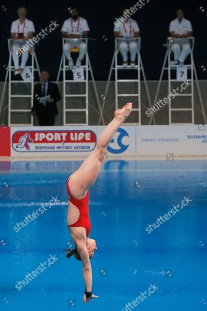 Editorial picture of European Diving Championships, Kiev, Ukraine - 12 Jun 2017