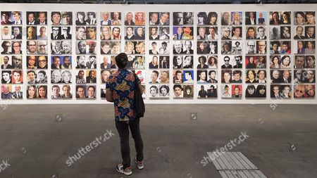The artwork 'Rob Pruitt's Official Art World / Celebrity Look-Alikes' (2016/2017) by US artist Rob Pruitt is on display at the show Unlimited in the context of the international art show Art Basel, in Basel, Switzerland, 12 June 2017. Unlimited is Art Basel's exhibition platform for projects that transcend the limitations of a classical art-show stand, including out-sized sculpture and paintings, video projections, large-scale installations, and live performances. Art Basel will run from 15 to 18 June.