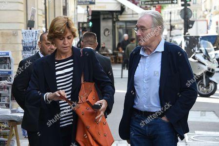 Bernard Le Coq and son epouse Martine