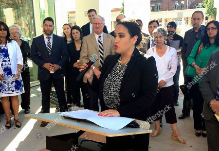Editorial picture of Education Lawsuit New Mexico, Santa Fe, USA - 12 Jun 2017
