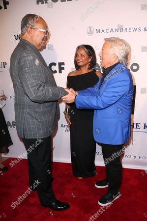 Richard Parsons, Jonelle Procope and Robert Kraft