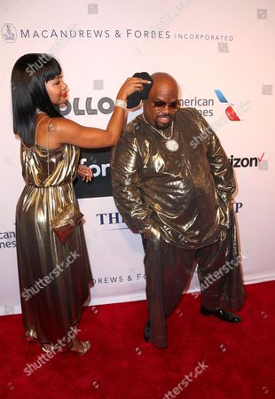 Cee Lo Green and Shani James