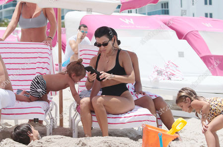 Editorial photo of Kourtney Kardashian and Hailey Baldwin out and about, Miami Beach, USA - 12 Jun 2017