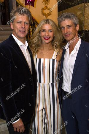 Andrew Castle, Georgina Castle (Sophie Sheridan) and Richard Trinder (Sam)