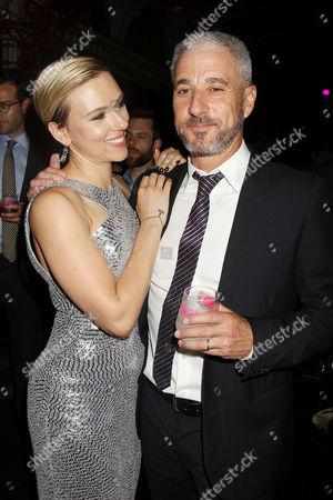 Scarlett Johansson and Matthew Tolmach