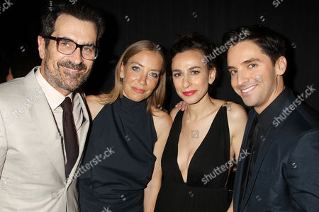 Ty Burrell, Holly Burrell, Lucia Aniello and Paul W. Downs