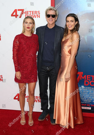 Claire Holt, Matthew Modine and Mandy Moore