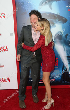 Johannes Roberts and Claire Holt