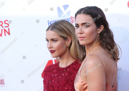 Claire Holt and Mandy Moore