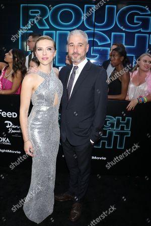 Scarlett Johansson and Matthew Tolmach, producer