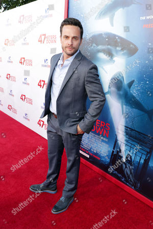Editorial picture of '47 Meters Down' film premiere, Arrivals, Los Angeles, USA - 12 Jun 2017