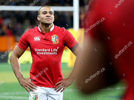 Highlanders vs British & Irish Lions. Lions' Jonathan Joseph dejected after the game