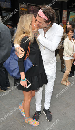 Francesca Suter and Marco Pierre White Junior