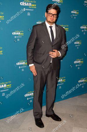 Editorial image of Cesar Academy Gala dinner, Paris, France - 12 Jun 2017