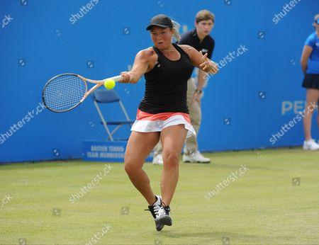 Johanna Konta (GBR) (1) v (WC) Tara Moore - Centre Court.