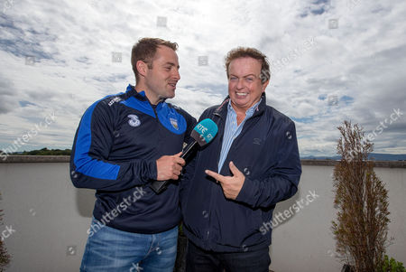Waterford hurler Noel Connors with RTE's Marty Morrissey