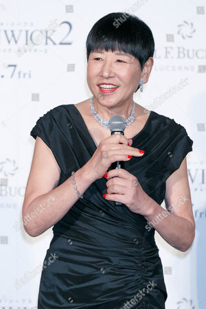 Stock Image of Japanese singer Akiko Wada speaks