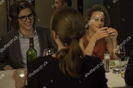 Stock Photo of Thomas Soliveres, Isabelle Carre, Alice de Lencquesaing
