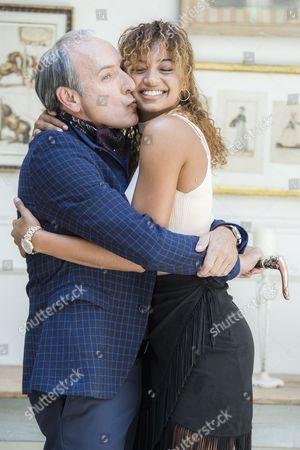 Eusebio Poncela and Berta Vazquez