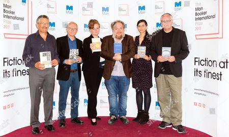 Stock Image of Nicholas de Lange, David Grossman, Dorthe Nors, Mathias Enard, Samanta Schweblin and Roy Jacobsen