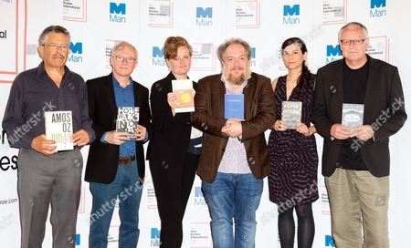 Nicholas de Lange, David Grossman, Dorthe Nors, Mathias Enard, Samanta Schweblin and Roy Jacobsen