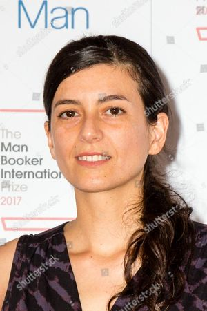 Editorial picture of Man Booker International Prize 2017, London, UK - 13 Jun 2017