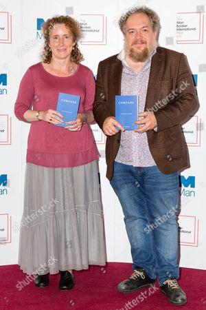 Stock Image of Charlotte Mandell and Mathias Enard