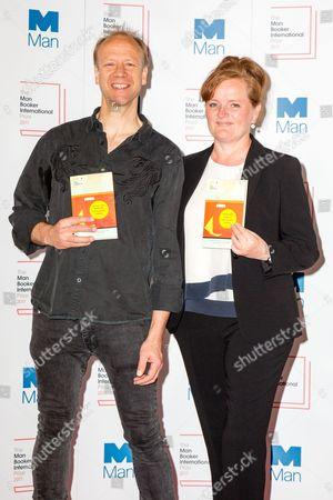 Stock Image of Misha Hoekstra and Dorthe Nors