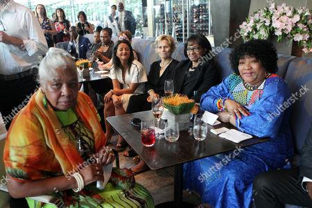 Civil Rights Activists Dr. Lenora Taitt-Magabane and South African Ambassador Zindzi Mandela