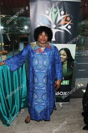 South African Ambassador Zindzi Mandela