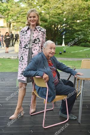 Lady Conran and Sir Terence Conran