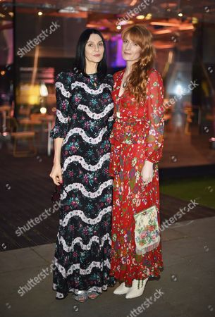 Susie Bick and Florence Welch