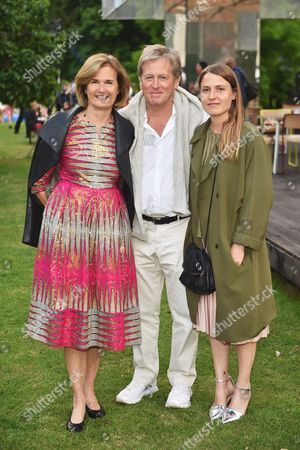 Stock Photo of Catherine Pawson, John Pawson and Phoebe Pawson