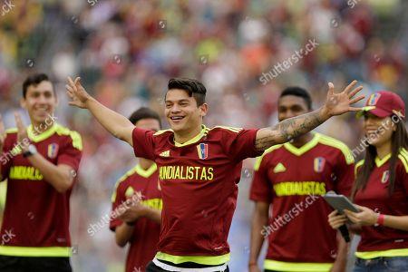 Editorial picture of U-20 Soccer, Caracas, Venezuela - 13 Jun 2017