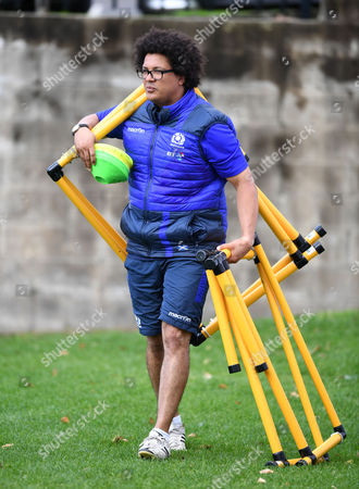 Andy Boyd - Scotland strength & conditioning coach.