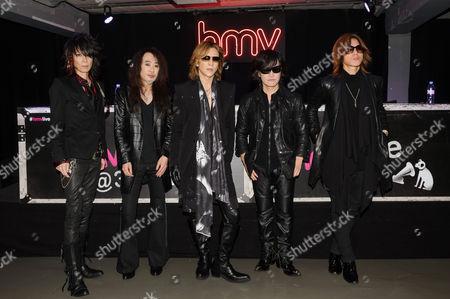 Japan at HMV - David Sylvian, Steve Jansen, Richard Barbieri, Mick Karn, Rob Dean