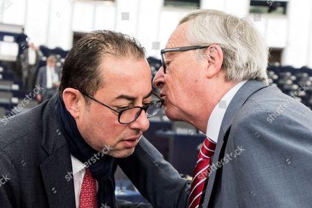 Editorial image of European Parliament in Strasbourg, France - 14 Jun 2017