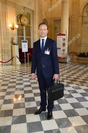 Editorial picture of Sylvain Maillard, new-elected deputy, French National Assembly, Paris, France - 13 Jun 2017
