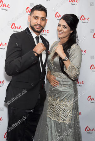 Amir Khan and Natasha Asghar