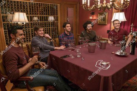 Stock Picture of Hasan Minaj, Bo Burnham, Paul Downs, Eric Andre, Patrick Carlyle