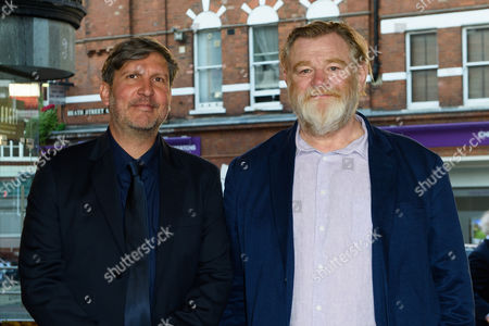 Brendan Gleeson and director, Joel Hopkins