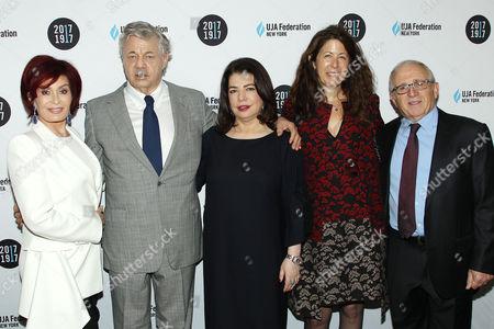 Sharon Osbourne, Steve Miller, Michele Anthony, Irving Azoff