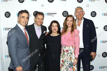 Avery Lipman, Michele Anthony, Julie Greenwald, Lyor Cohen