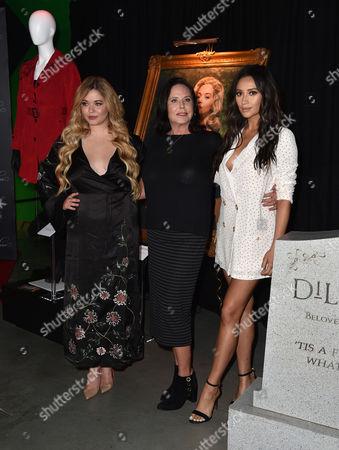 Stock Photo of Sasha Pieterse, Marlene King and Shay Mitchell