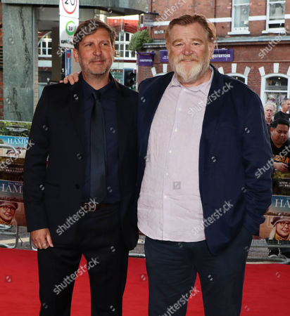Joel Hopkins and Brendan Gleeson