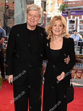 Stock Photo of Martin Jarvis and Rosalind Ayres